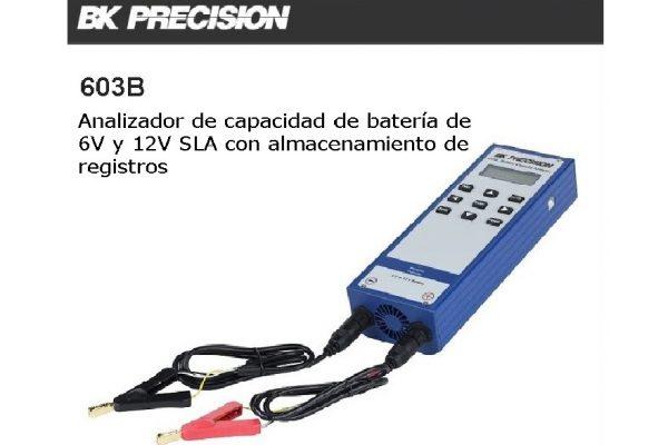 603B Analizador de capacidad de batería de 6V y 12V SLA con almacenamiento de registros