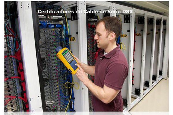 DSX CableAnalyzer™ Series Certificadores de Cable