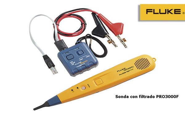 Sonda con filtrado Pro3000F™ de Fluke Networks