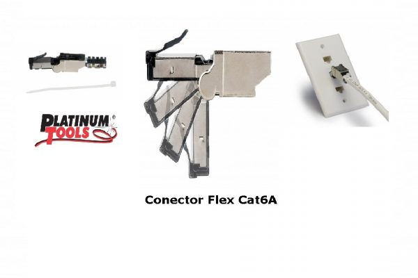 Conector Flex Cat6A
