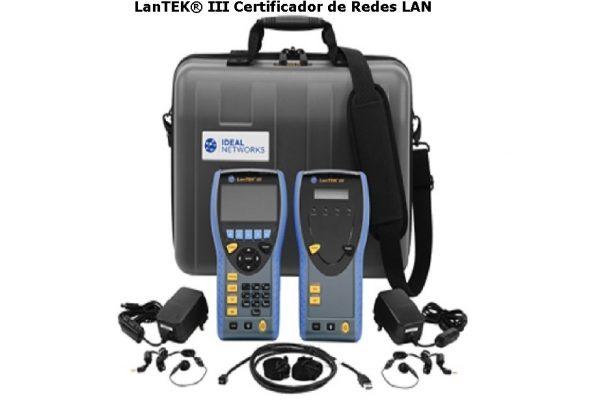 LanTEK® III Certificador de Redes LAN